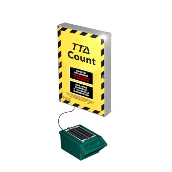TTA Count car counter vehicle trail bike highway road counting traffic