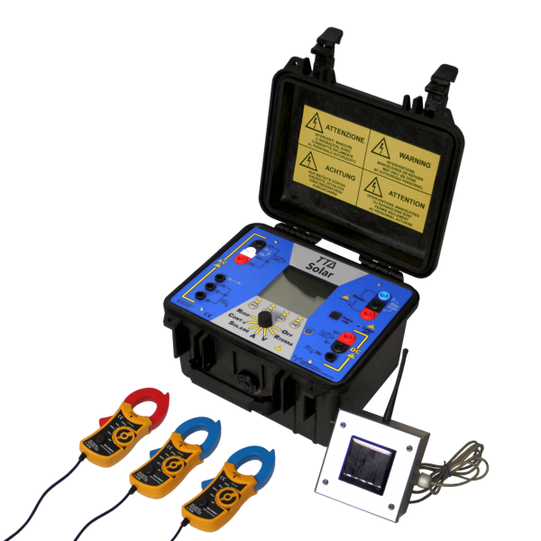 TTA Solar test meter kit pv installation record electrical measurement connection