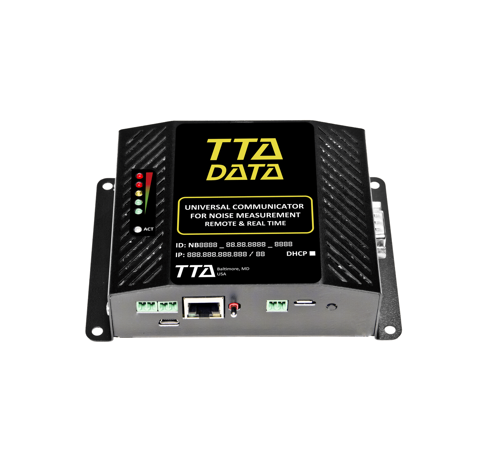 TTA Data datalogger environmental record capture temperature humidity wind speed direction logger