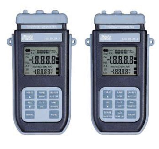 DeltaOhm HD 2101.1 HD 2101.2 portable humidity temperature datalogger confort indices enthalpy