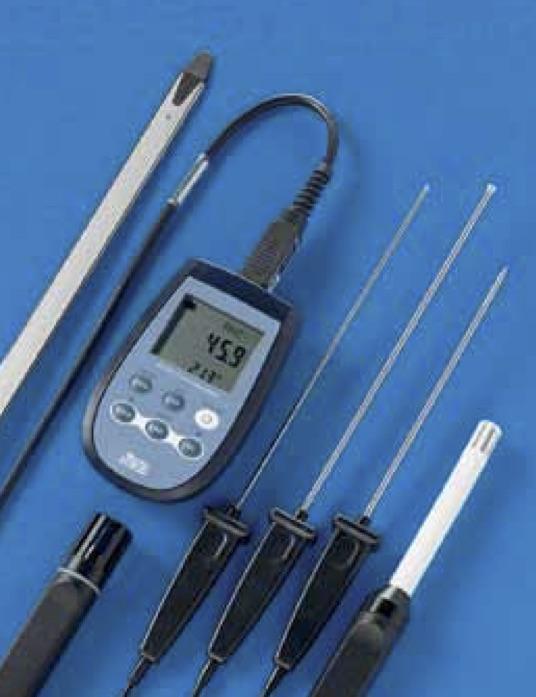 DeltaOhm HD 2301.0 portable measures relative humidity temperature